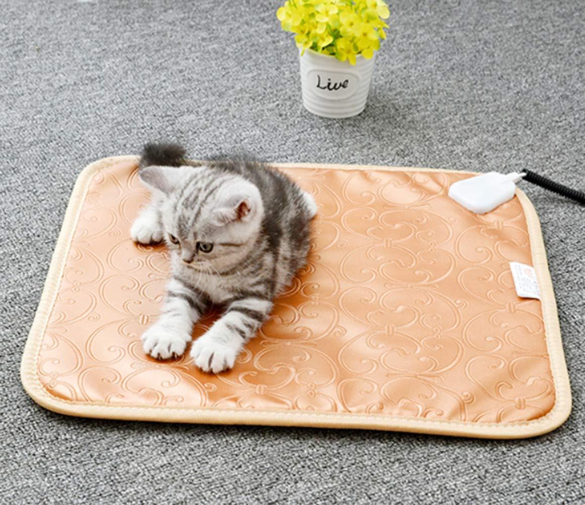 Dogbedpad Pet Heat Pad Calentador Eléctrico Mascota Perro Cachorro Cat Calefactor Cama Mat 3 Grado Temperatura Control Impermeable Caliente Mat: Amazon.es: ...
