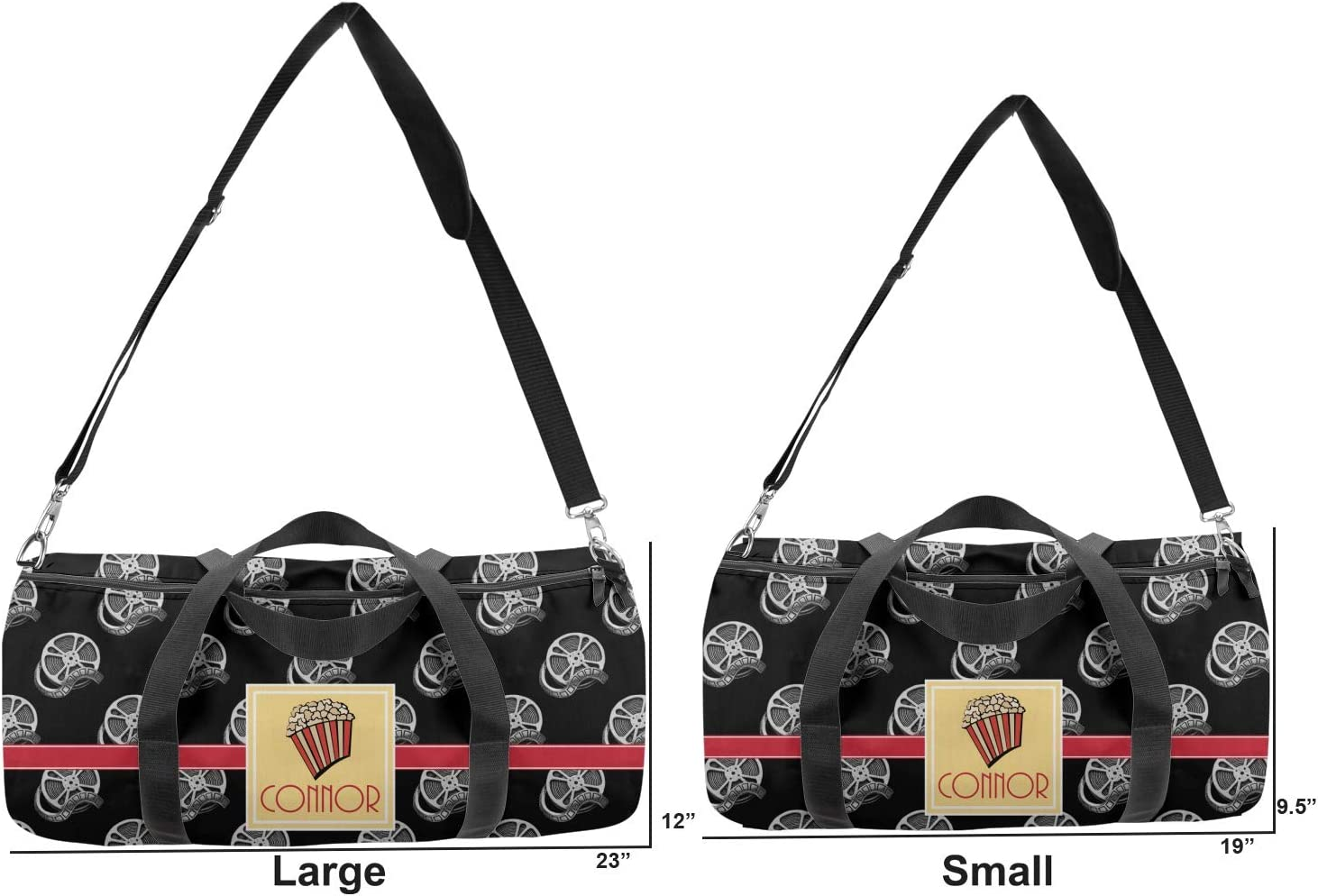 Personalized YouCustomizeIt Movie Theater Duffel Bag