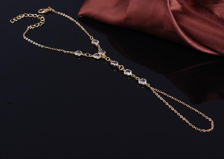 Ogquaton Bague en Forme de Zircon pour Les Femmes avec Bijoux en Argent