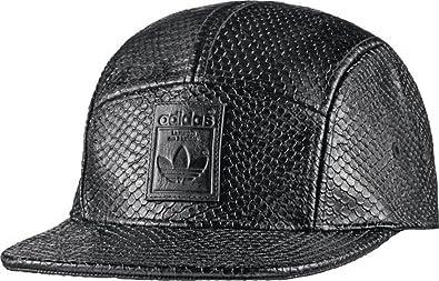 adidas 5 Panel Snake - Gorra unisex, color negro, talla OSFW