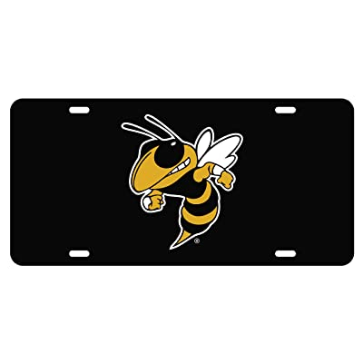 Craftique Georgia Tech Tag (BLK/REFL Yellow Jacket TAG (18001)) : Sports & Outdoors