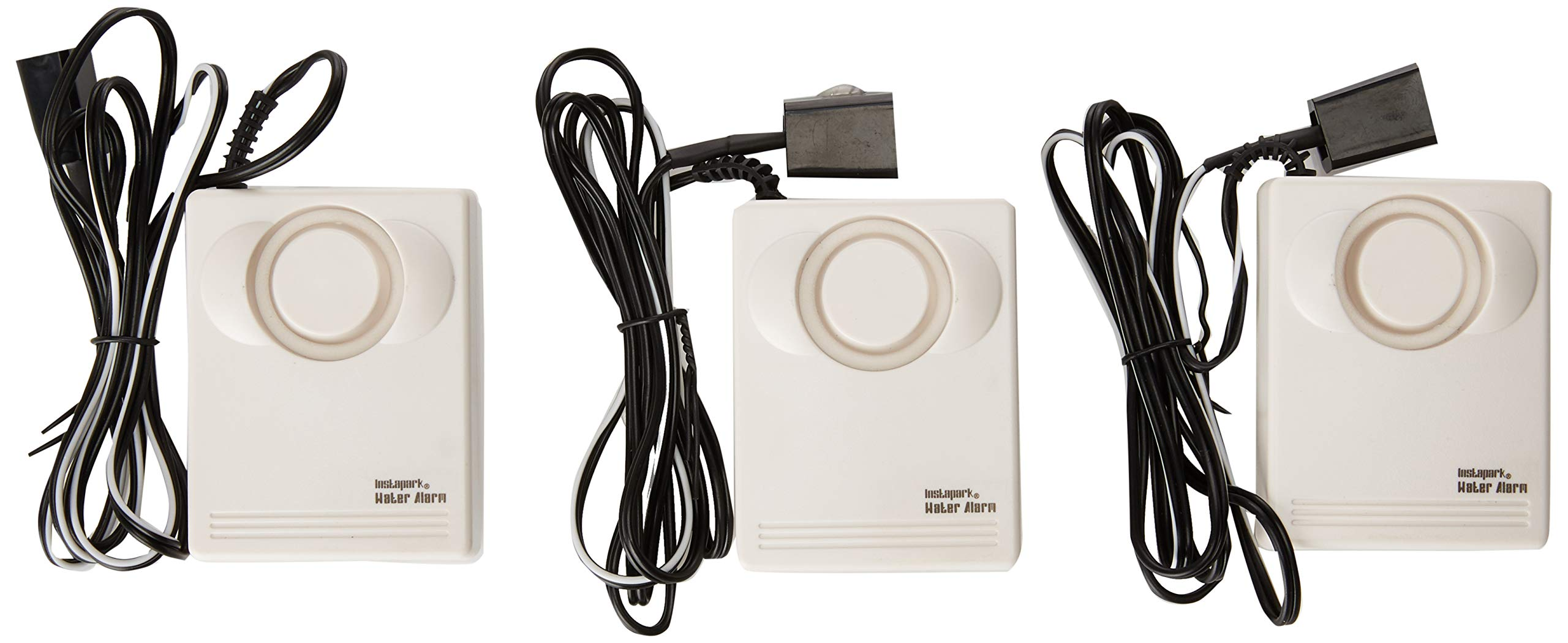 Instapark Water Leakage Detection Alarm and Sensor, Low Battery Alert by Instapark