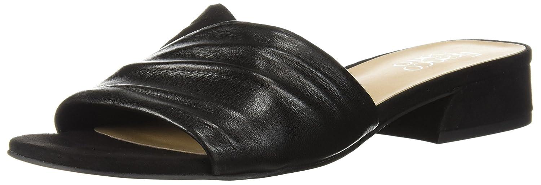 Franco Sarto Women's Frisco Slide Sandal B0771VGPWP 7.5 B(M) US|Black