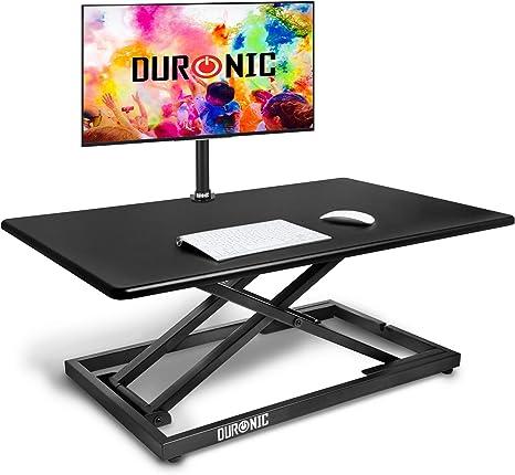 Duronic DM05D10 Workstation | Sitz Steh Schreibtisch