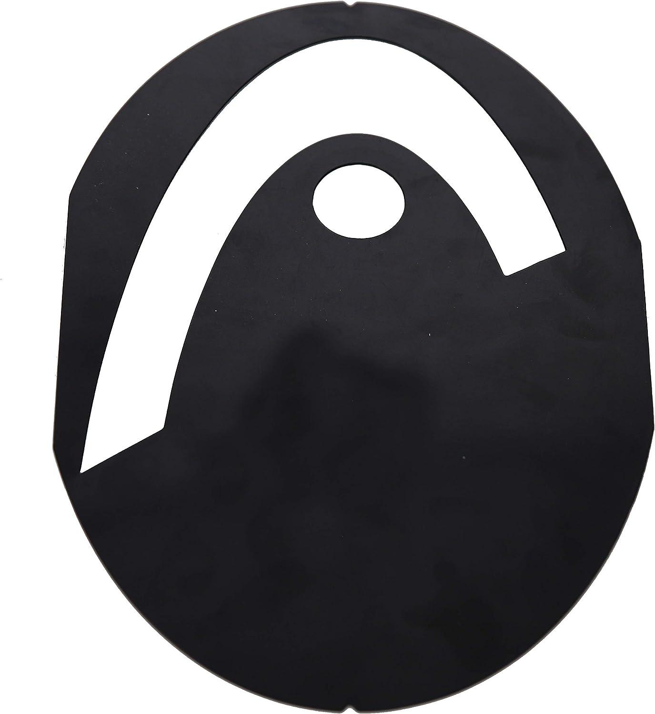amazon com head logo stencils 286008 standard tennis rackets sports outdoors head logo stencils 286008