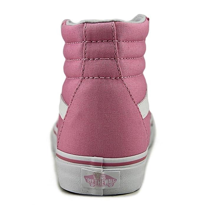 07cc0f69a4 Vans Sk8-Hi Canvas Unisex Prism Purple Sneakers  Amazon.co.uk  Shoes   Bags