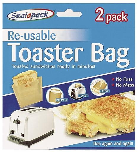 Sealapack bolsas para tostadora reutilizables, 2 paquetes
