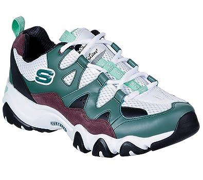 Skechers X One Piece Men'S D'Lites 2 Low Top Sneaker Shoes