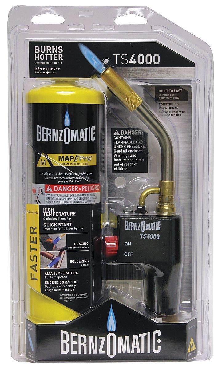 Worthington TS4000T Bernzomatic Trigger-Start Torch-TRIGR-STRT PROPANE TORCH
