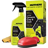 Mothers 07260 Ultimate Hybrid 1-Step Ceramic Clay & Coat