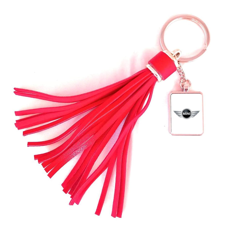Porte-clés/Accroche-Sac Fashion Mini (Acier/Simili-Cuir)