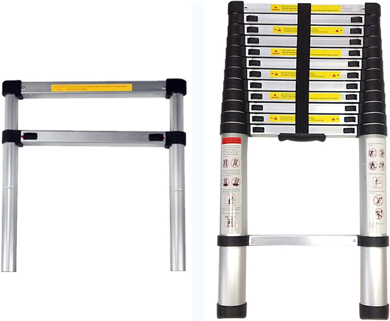 s Barre stabilisatrice Leogreen Nombre de barreaux: 12 Standards//Certifications: EN131 EN 131 3,8 m/ètre /Échelle Multifonction /Échelle Telescopique