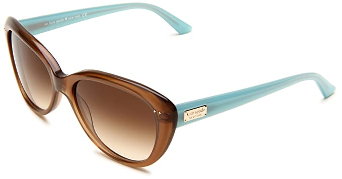 1a530764dfc3 KATE SPADE ANGELIQUE/S Sunglasses 0JVC Tan 55-16-135: Amazon.co.uk ...