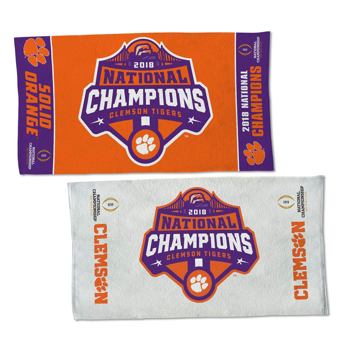 Wincraft Clemson 2018 College Football National Champions Locker Room Towel by Wincraft (Image #1)