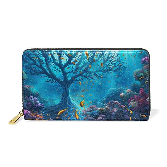 Amazon.com: fennen Arte pescado Genuine Real funda de piel ...