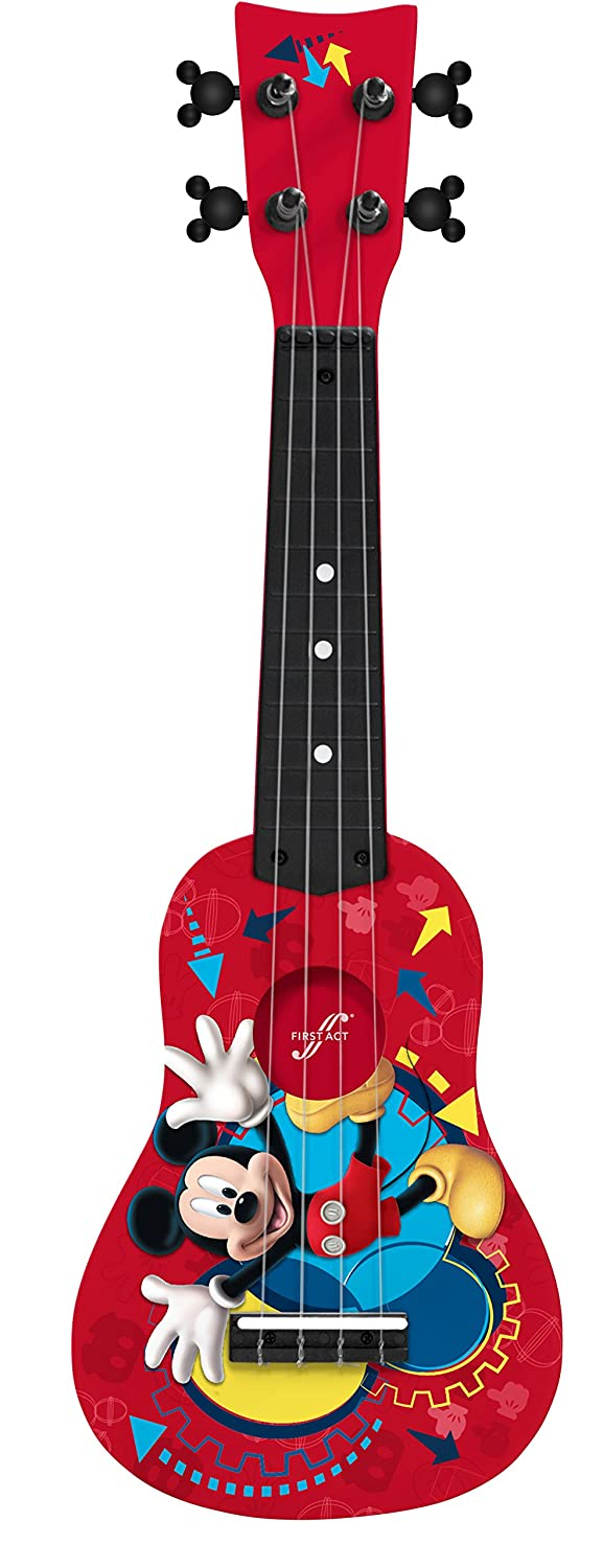 First Act Disney Mickey Mouse Soprano Ukulele/Mini Guitar
