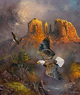 product image for Sedona Eagles 500 pc Jigsaw Puzzle by SUNSOUT INC