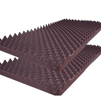 burgundy acoustic foam egg crate panel studio foam wall panel 48u0026quot x 24u0026quot