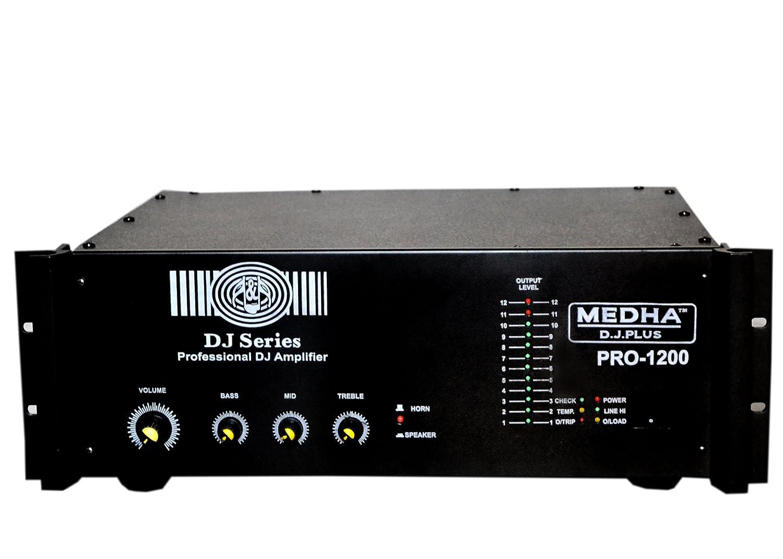 MEDHA DJPLUS PRO1200 HIGH POWER MOSFET DJ Amazonin Electronics – Dj Amplifier Wiring Diagram