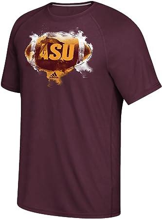 adidas Hombres de Arizona State Sun Devils Maroon Ultimate ...