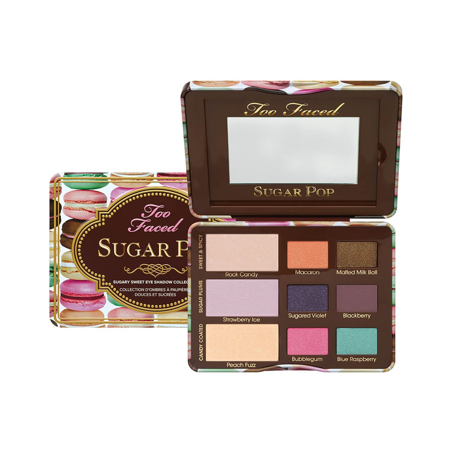 Too Faced Sugar Pop Sugary Sweet Eye Shadow Collection