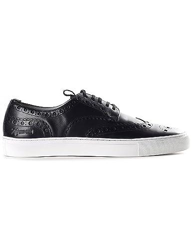 a8b76be9400 Grenson Men s Wingtip Sneaker Sneaker 3 Black Calf 7 ...