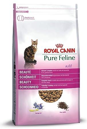 Royal Canin pienso para gatos Pure Feline Belleza: Amazon.es ...