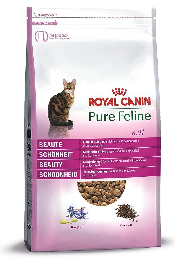 Royal Canin pienso para gatos Pure Feline Belleza: Amazon.es: Alimentación y bebidas