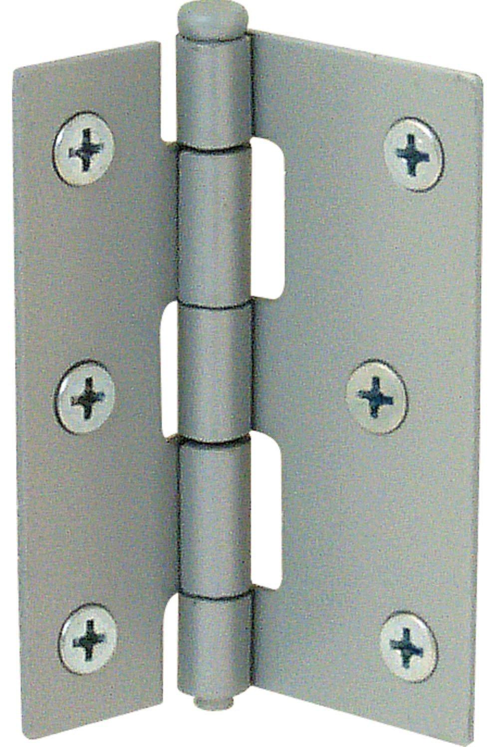 Prime-Line Products K 5038 Screen Door Hinge Steel, Grey,(Pack of 2)