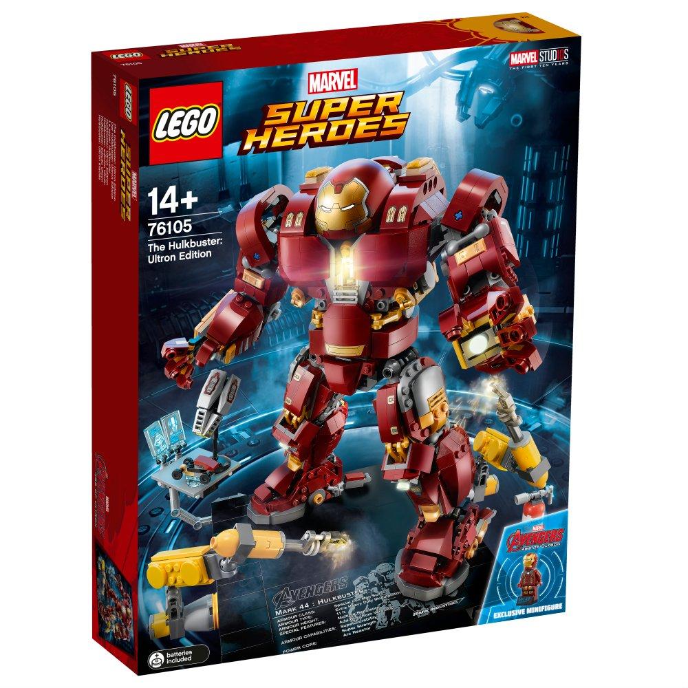 LEGO- Super Heroes-Hulkbuster: edición Ultrón, Figura de acción de Juguete basado en Las películas de Avengers (76105)