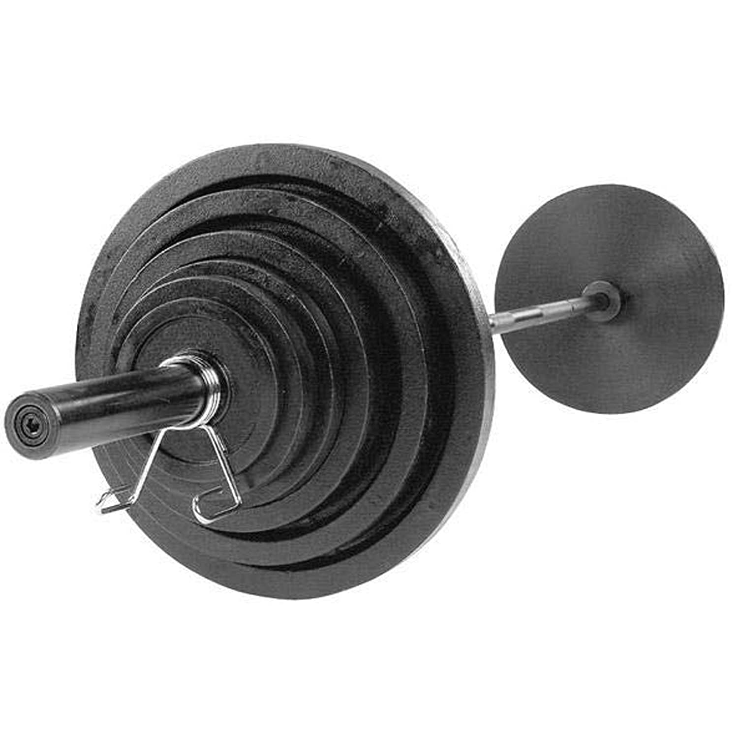 a7760973821 Amazon.com   Body-Solid OSB355 Cast Olympic Plates   Weight Plates   Sports    Outdoors