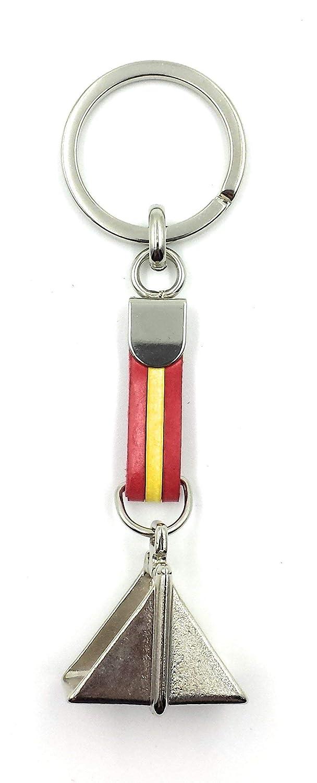FJR-ArtPiel - Llavero bandera de España con estribo español - Alta ...
