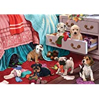 Ks Games Puzzle 500 Parça Puppies in the Bedroom 20009