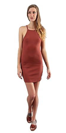 9ae14de81ca Ribbed Cotton Knit Tank Dress