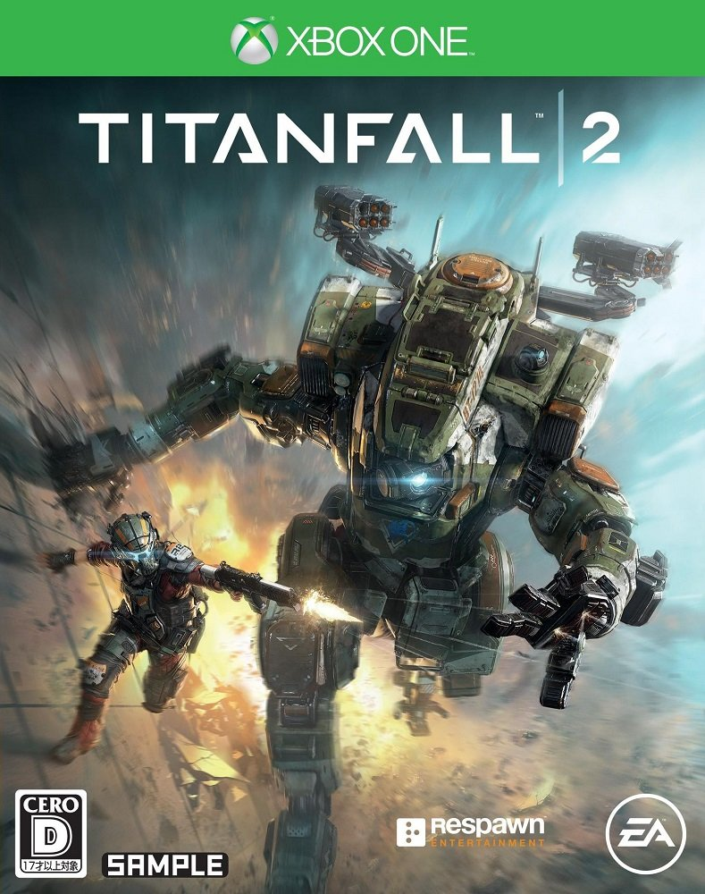 Titanfall 2 XBOX ONE Edition JAPANESE VERSION
