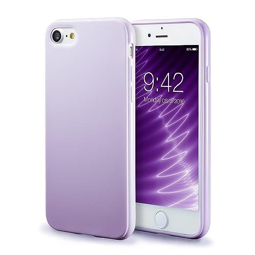 43 opinioni per iPhone 7 /8 Custodia Silicone Morbido , Sottilissimo Gel Bumper Flesibile e