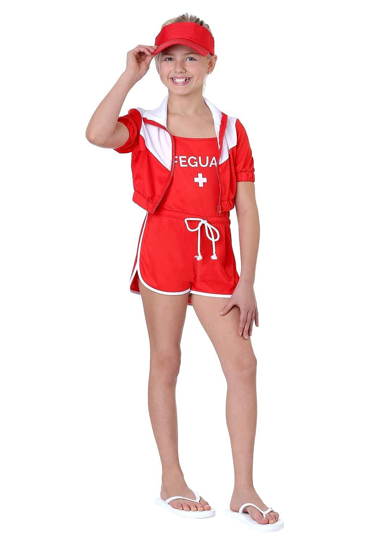 XLarge Girl's Lifeguard Costume XLarge