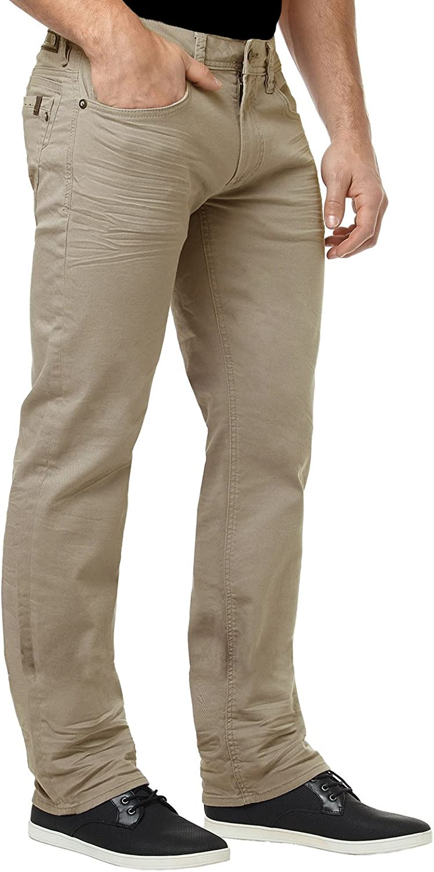 Buffalo David Bitton Mens Six Slim Straight-Leg Jean