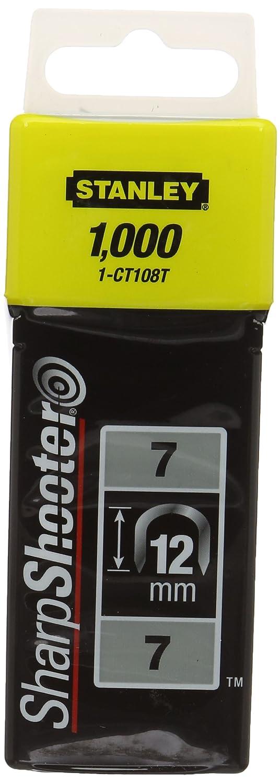 Stanley CT100  -  Grapas para cable (12 mm)  1000 piezas 1-CT108T