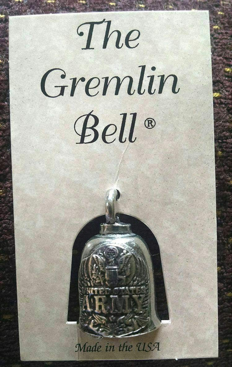 Tuning/_Store US Army Motorcycle Guardian Angel Good Luck Gremlin Bell Made in USA Cool Tuning