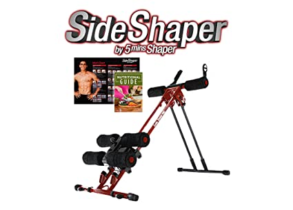 c72b98c68e Image Unavailable. Image not available for. Color  Side Shaper by 5 Mins  Shaper Pro - Ab Carver Workout Equipment Portable Ab Machine Core