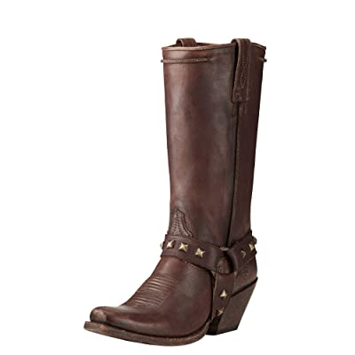 Ariat Women's Rowan Harness Work Boot, Naturally Distressed Brown, 10 B US | Shoes