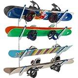 StoreYourBoard Snowboard Multi Wall Storage Rack, Home and Garage Mount
