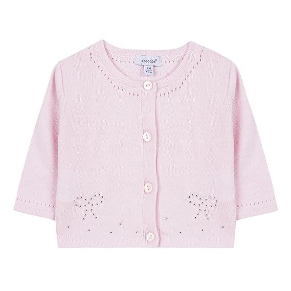 6a4972eff6bfb Absorba Boutique 9M18022 Gilet, Rose 30, 3 Mois Bébé Fille: Amazon.fr:  Vêtements et accessoires