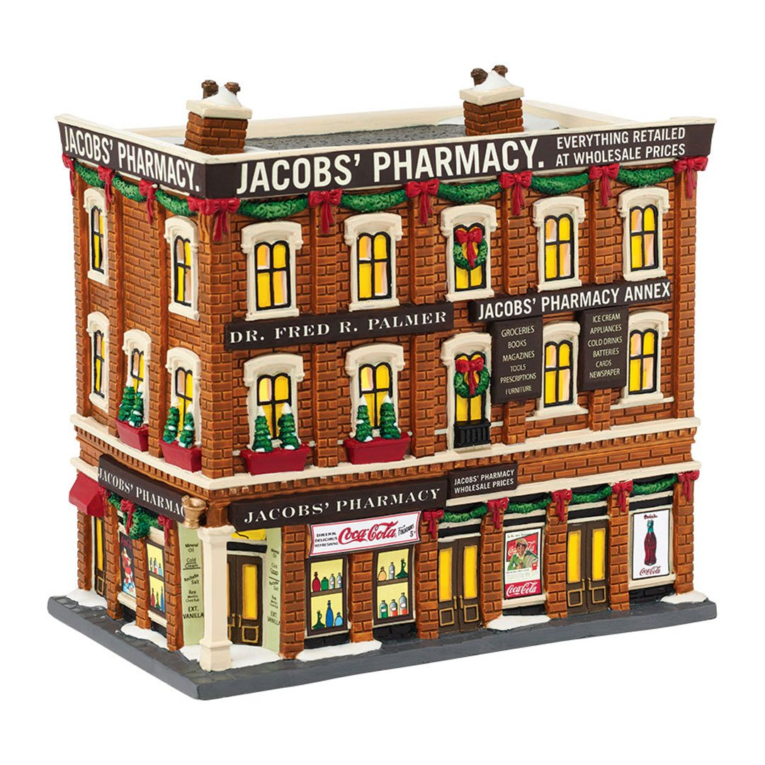Amazon.com: Department 56 Christmas in the City Village Jacobs ...