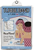 Turbie Twist Turbie Band, White