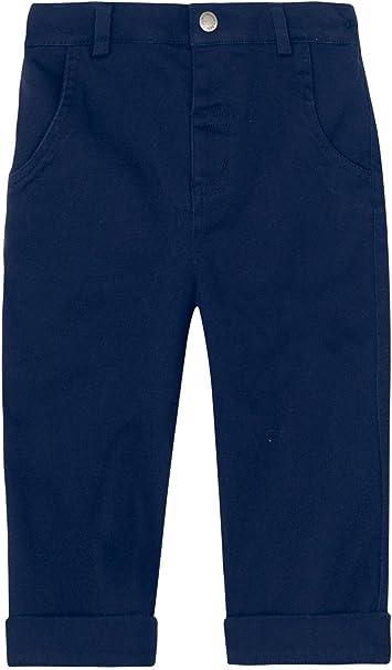Baby Navy JoJo Maman Bebe Cropped Twill Pants