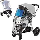 Hrzeem Universal Rain Cover for Stroller - 2020 New PVC-Free Baby Stroller Rain Cover, Waterproof & Windproof EVA…