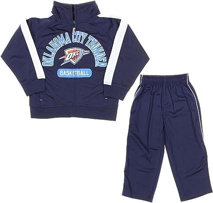 NBA Infants//Toddlers Oklahoma City Thunder Swish Windsuit Jacket /& Pant Set