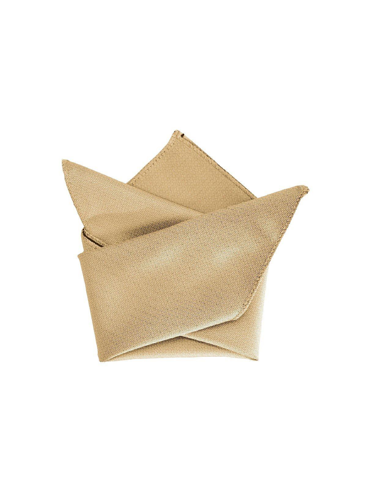 Men's Paragon Pocket Square Style YD504 by After Six - Venetian Gold